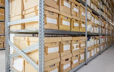 Archivage physique de dossiers - landbox
